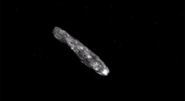 Artist's concept of asteroid