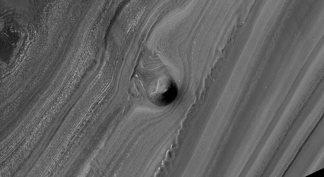 mound on Mars