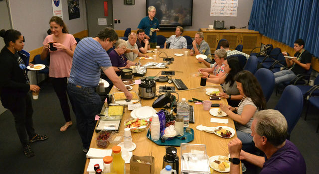 The Cassini team's breakfast tradition has been going strong since 2006.