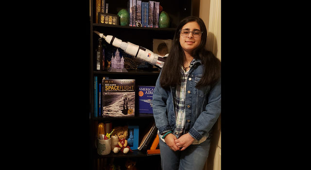 Vaneeza Rupani, the 11th grader who named the Mars Helicopter