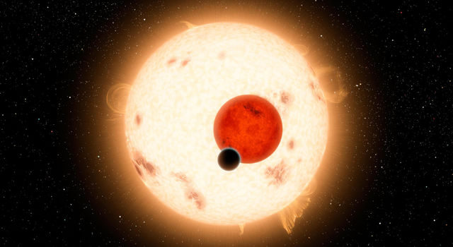 Years before science discovered planets orbiting two stars