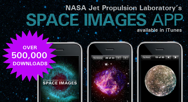 Space Images app reaches 500,000 downloads
