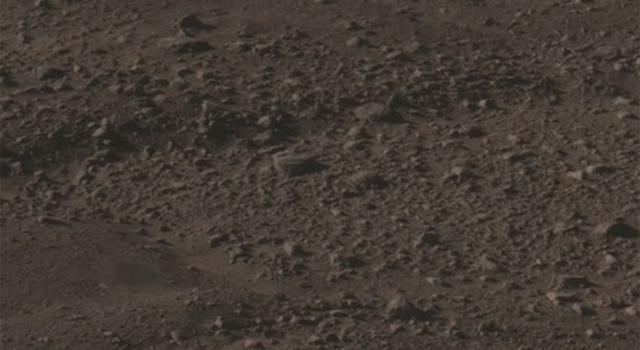 landscape of mars