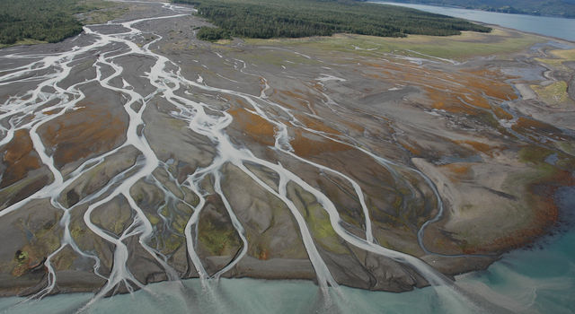 Runoff in Alaska. Credit: NOAA