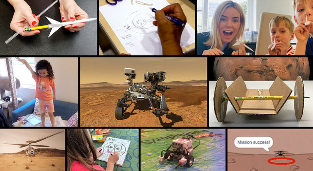 The Mission to Mars Student Challenge provides a fun and engaging way for students everywhere to join NASA