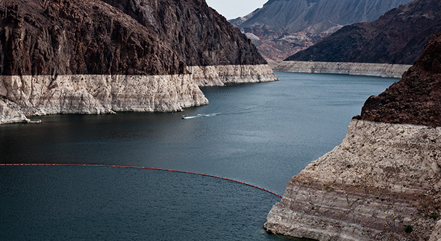 Surface-water depletion in the Colorado River Basin has left this
