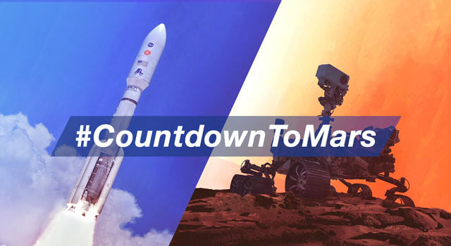 #CountdownToMars project