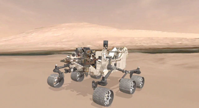 Explore Mars With Curiosity