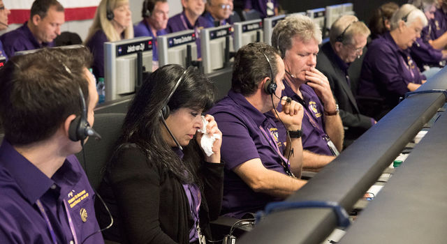 An emotional Cassini team