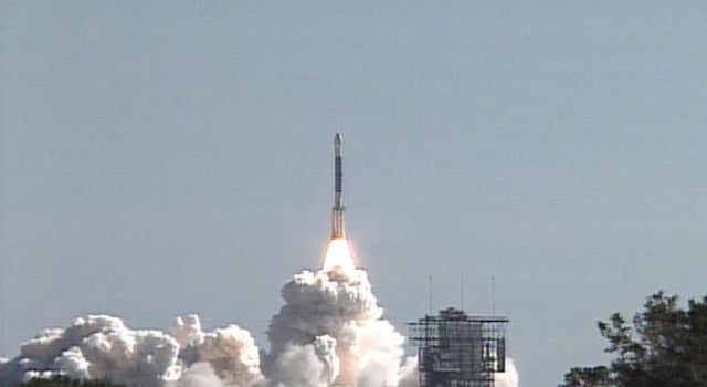 Launch of Deep Impact