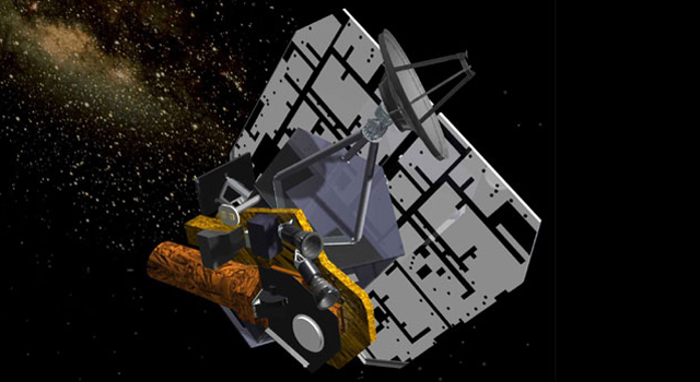 Artist's concept of Epoxi spacecraft