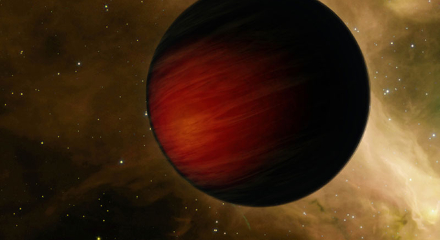 Artist's concept of the hottest planet known
