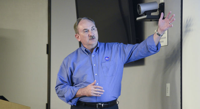 NASA Planetary Defense Officer Lindley Johnson was among speakers at an Oct. 25, 2016