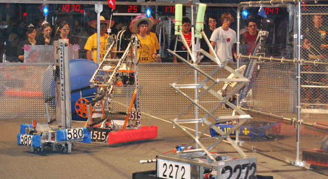 FIRST Robotics competition arena
