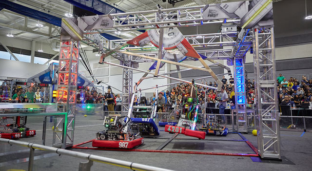 2020 FIRST Robotics regional event