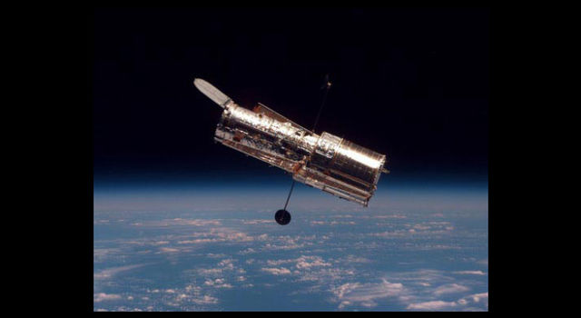 NASA's Hubble Space Telescope in orbit