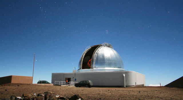 NASA's Infrared Telescope Facility on Maunakea on the Big Island of Hawaii