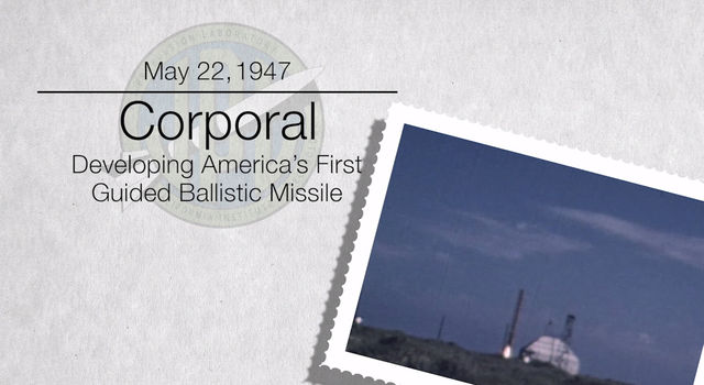 Corporal: America's First Guided Ballistic Missile
