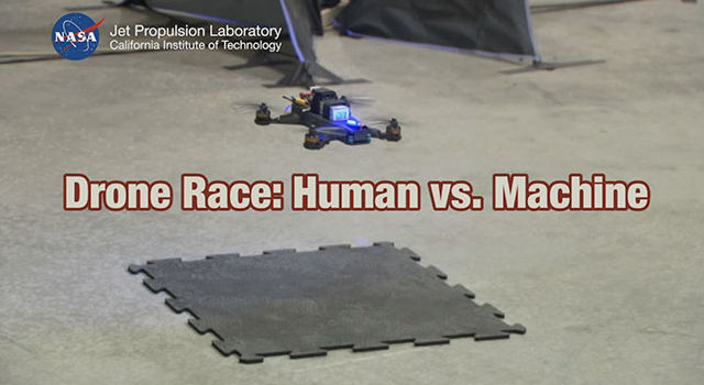 Drone Race: Human Versus A.I.