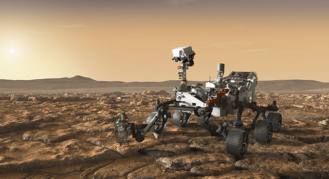 Artist's concept of Mars 2020 rover