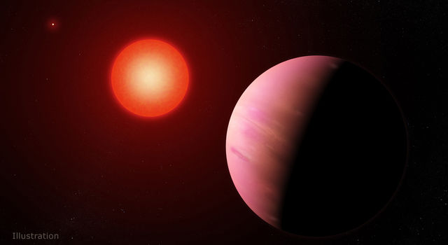 Artist's concept of planet K2-288Bb