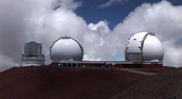 Hawaii's Keck Observatory in Mauna Kea