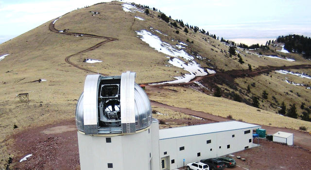 2.4-meter telescope facility at Magdalena Ridge Observatory