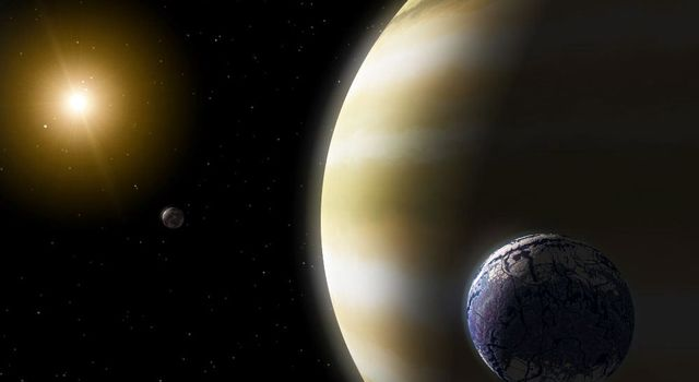 Artist concept of an extrasolar planet
