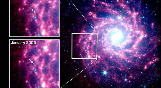 M74 Galaxy May House A Dust Factory