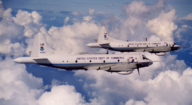 WP-3D Orion aircraft
