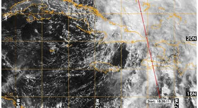 CloudSat image of Noel