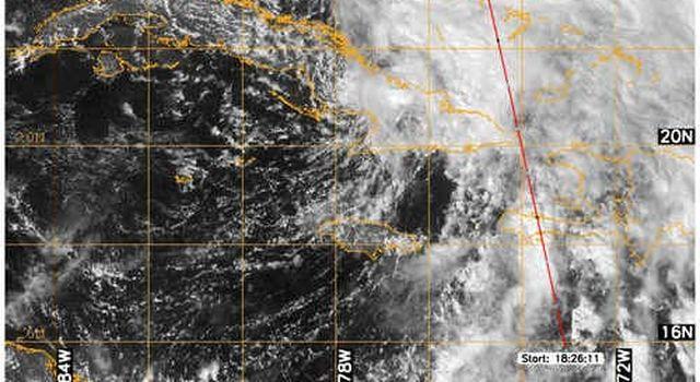 CloudSat image of Noel