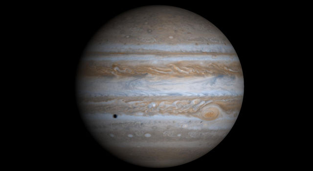 High Resolution Globe of Jupiter