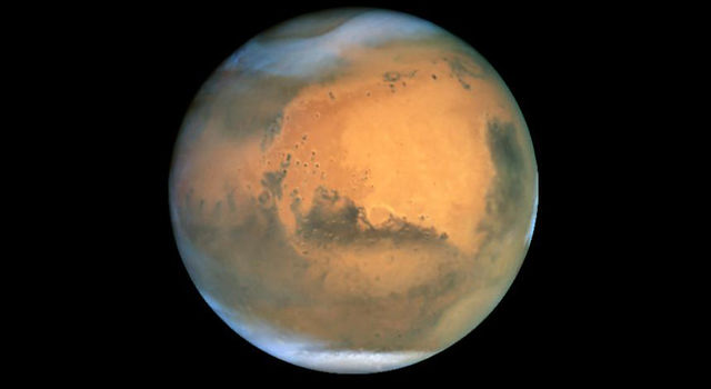 Hubble Space Telescope's view of Mars