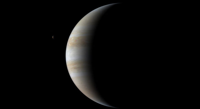 Jupiter picture taken by Cassini