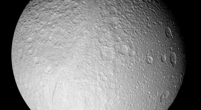 Saturn's moon Tethys