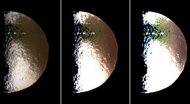 Color Dichotomy on Iapetus