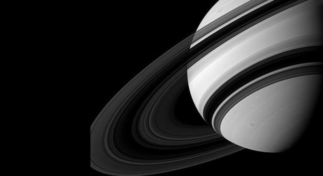 Saturn's B ring is the most opaque of the main rings