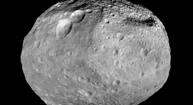 This mosaic synthesizes the best views that NASA's Dawn spacecraft had of giant asteroid Vesta.