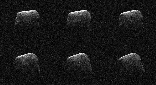 Comet Frozen In Time by NASA Radar