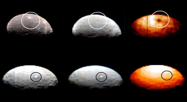 Dawn VIR Images of Ceres