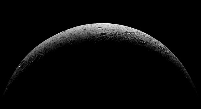 Departing Dione