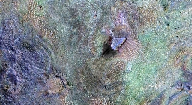 Rocks Here Sequester Some of Mars' Early Atmosphere
