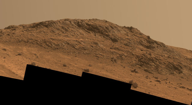 'Hinners Point' Above Floor of 'Marathon Valley' on Mars