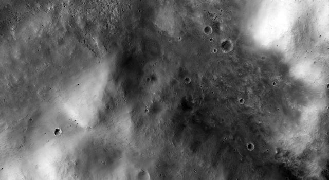 Western Edge of Mars' Marth Crater, a Movie Location