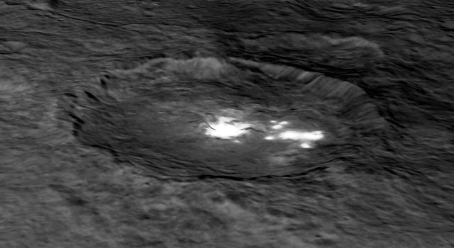 Occator Crater in Perspective