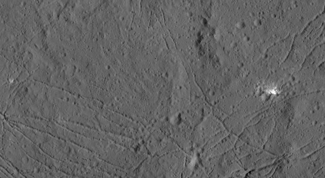 Floor of Dantu Crater from HAMO