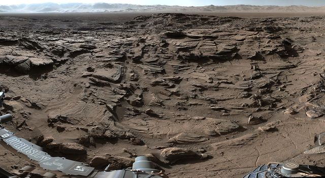Full-Circle Vista from 'Naukluft Plateau' on Mars