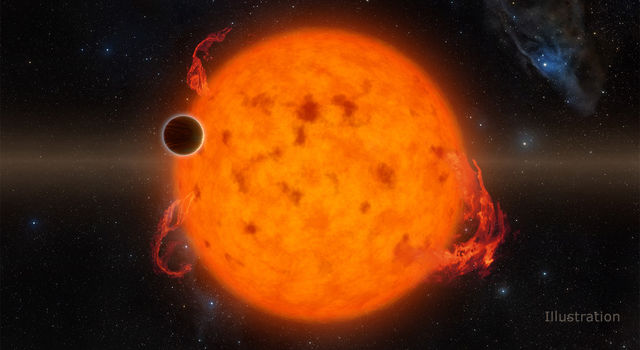 Exoplanet Orbits Youthful Star