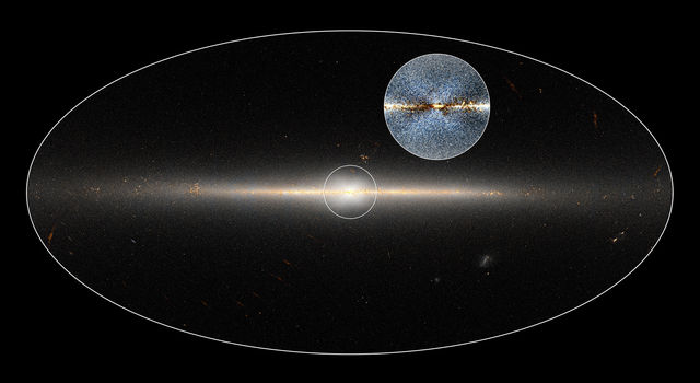 Researchers used data to highlight the X-shaped structure in the bulge of the Milky Way.